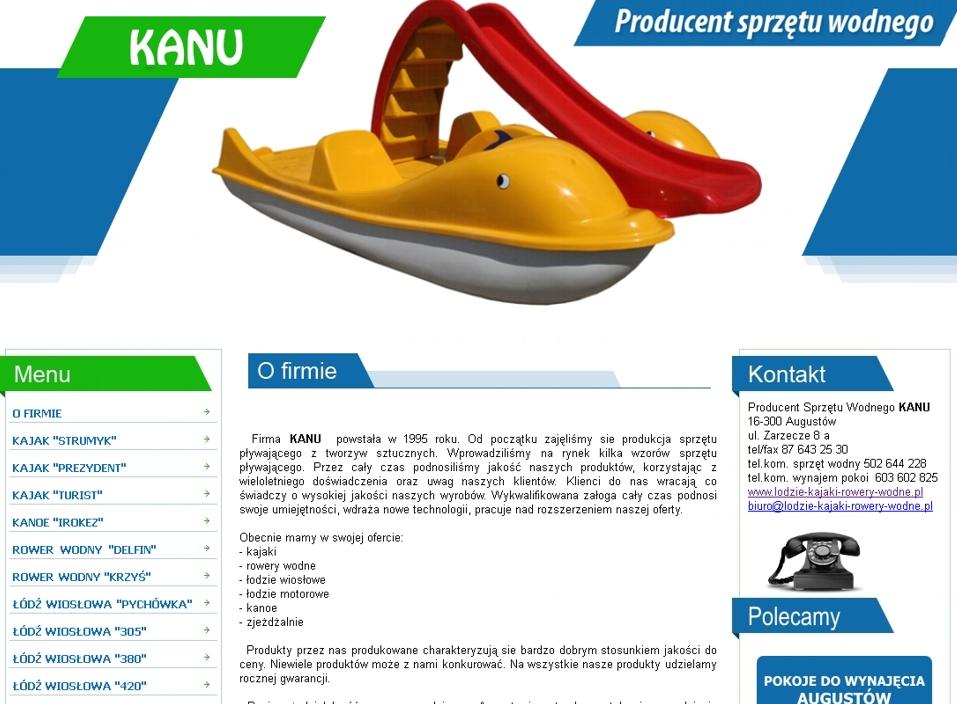 lodzie-kajaki-rowery-wodne.pl