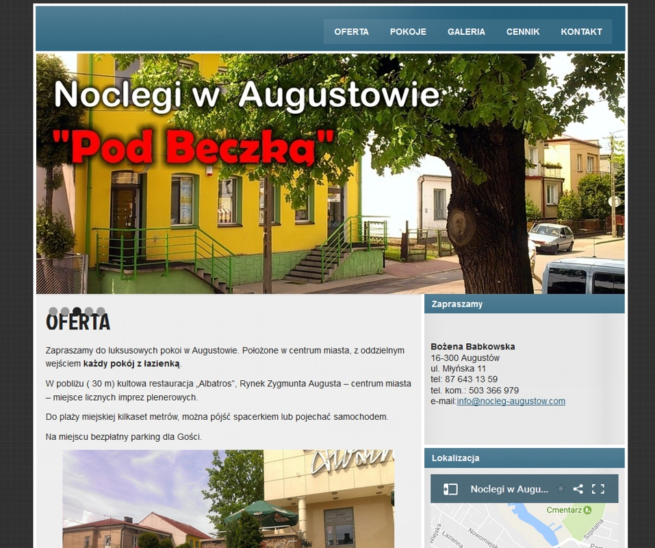 nocleg-augustow.com